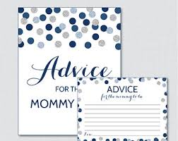 to be cards purple and gold baby shower advice for cards printable