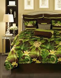 King Bedroom Set Overstock Rose Tree Rainforest 4 Piece King Size Comforter Set Free