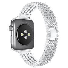 stainless steel bracelet strap images Women crystal rhinestone diamond watch bands stainless steel jpg