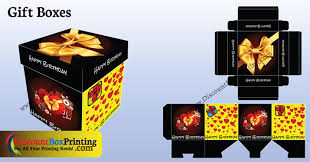 printed gift boxes gift boxes custom printed boxes discount box printing