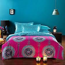 amazon com fadfay bohemian style duvet covers bedding set full