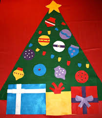 felt christmas tree ideas and inspiration for your own