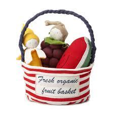 organic fruit basket fresh organic fruit basket soft fruit toys stuffed fruit toys