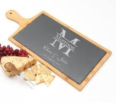 cheese board engraved personalized cutting board engraved bamboo 16 x 5 design 12