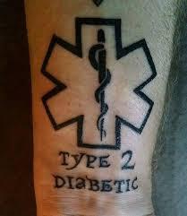 diabetic ink photo diabetic ink tatoos and