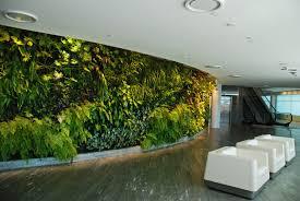 qantas lounge sydney vertical garden patrick blanc
