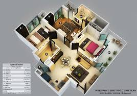 home design 3d 3 bhk apartment 3 bhk apartment home design great luxury at 3 bhk