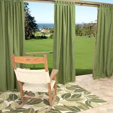 Clear Vinyl Patio Enclosure Weather Curtains by Outdoor Curtains For Patio Before No Curtains Add A Little Shade