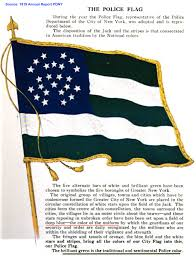 The Flag Of New York History Nypd U0027s Flag Pdny