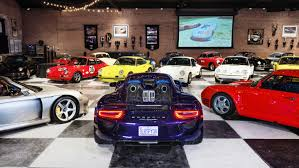 porsche home garage a real love story