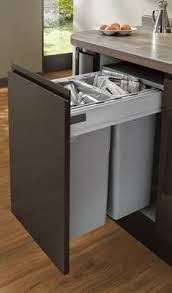 kitchen collection llc large integrated recycling bin waste management accessories