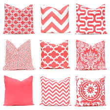 White Bedroom Throw Pillows Coral Pillow Covers 12 X 16 Pillow Covers Decorative Throw