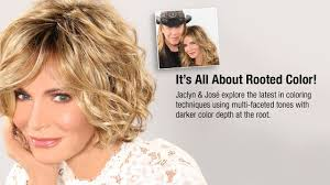 Hair Color To Look Younger The Natural Look Of Rooted Color Jaclyn Smith Wigs Paula Young