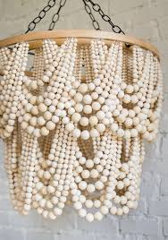 How To Make A Beaded Chandelier Diy Bead Chandelier The House That Lars Built