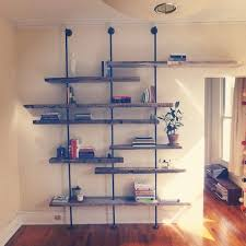 Wooden Wall Shelf Designs by Best 25 Pipe Shelves Ideas On Pinterest Industrial Shelving