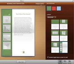 how to create greeting cards with iphoto