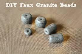 Faux Granite Clay Beads Diy Faux Granite Bead Tutorial