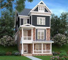 narrow lot house plans houston chrl3556 exterior i love these very tall homes on very narrow lots