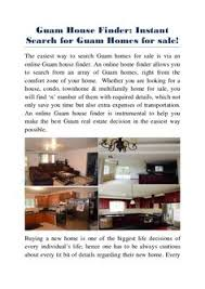 guam house finder has multiple of home condos and apartment for