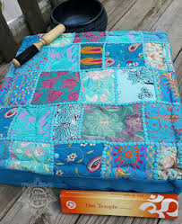 Floor Decor And More Khambadia Floor Pillows Patchwork Designs Floor Pillows And