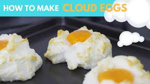 organic cloud eggs tutorial youtube