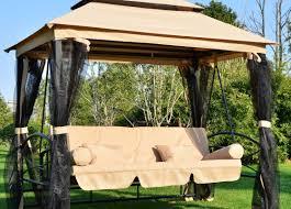 Patio Furniture Swing Set - bench bayridgeporchswingandstandset beautiful outdoor bench