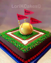8 best cakes images on pinterest softball birthday cakes