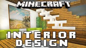 minecraft tutorial how to make a modern interior house design