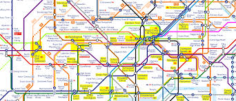 London Metro Map by Behold U2013 The Tube Map Of The Future U2013 Now Here This U2013 Time Out