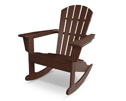 Adirondack Outdoor Furniture Polywood South Beach Adirondack Rocker Chair U0026 Reviews Wayfair