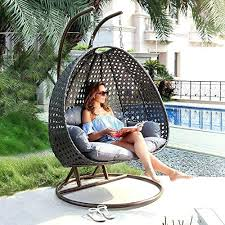 outdoor egg chair outdoor hanging chair with stand by island gale