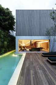 modern brazilian home embraces transparency and nature modern