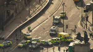 london attack 4 dead including attacker in car rampage and