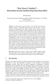 Computer Security Incident Report Template by Sle Security Incident Report Writing Term Paper Academic Service
