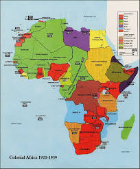 King Of Prussia Map The Map In The Picture Shows Colonial Africa From 1920 1939 It