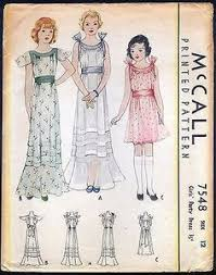 u0027s dress 1925 girls u0027 dress patterns for june 1924