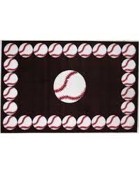 Baseball Area Rug Shopping Sales On Rugs Time Baseball Time