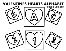 file valentines day hearts alphabet cover at coloring pages for