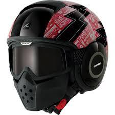 ghost rider mask ebay shark raw cult motorcycle helmet plus goggle u0026 mask kit aggressive