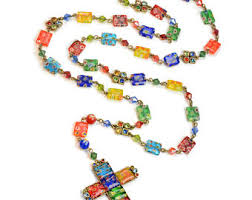 necklace rosary images Rosary necklace etsy jpg