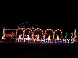 animated lights to sleigh ride 2007