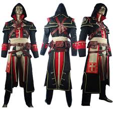 Rogue Halloween Costume Assassin U0027s Creed Rogue Shay Patrick Cormac Cosplay Costume