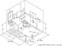 Best ADA Bathroom Drawing Images On Pinterest Ada Bathroom - Ada kitchen sink requirements