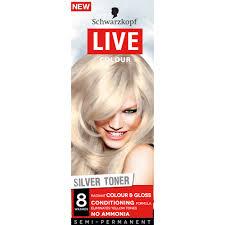 silver blonde color hair toner buy live colour silver toner 1 ea by schwarzkopf online priceline
