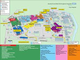 Odu Parking Map Birmingham City Hospital Sandwell And West Birmingham Hospitals