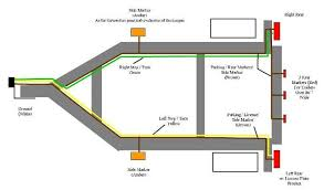 trailer 4 pin wire diagram wiring diagram and schematic design