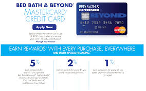 Bed Bath And Beypnd Bed Bath U0026 Beyond Launches New Comenity Credit Card Doctor Of Credit