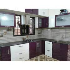 kitchen furniture pvc kitchen cabinet in vadodara gujarat polyvinyl chloride
