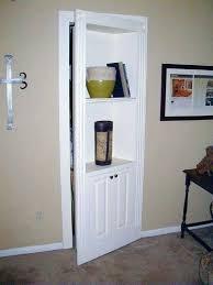 bookcase build hidden bookshelf doors a flush mount murphy door