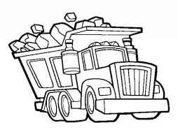 the most awesome dump truck coloring page for warm cool coloring